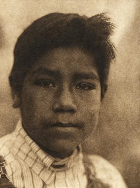 A Maidu boy (The North American Indian, v. XIV. Norwood, MA, The Plimpton Press, 1924)