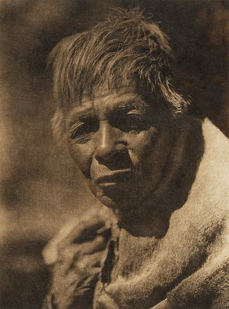 A Wailaki man (The North American Indian, v. XIV. Norwood, MA, The Plimpton Press, 1924)