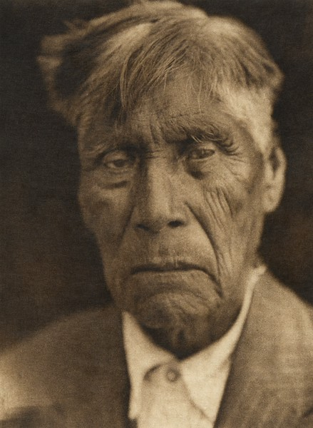 Old Boy - Tachi Yokuts (The North American Indian, v. XIV. Norwood, MA, The Plimpton Press, 1924)