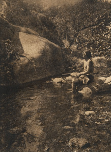 On the south fork of  Tule River (The North American Indian, v. XIV. Norwood, MA, The Plimpton Press, 1924)