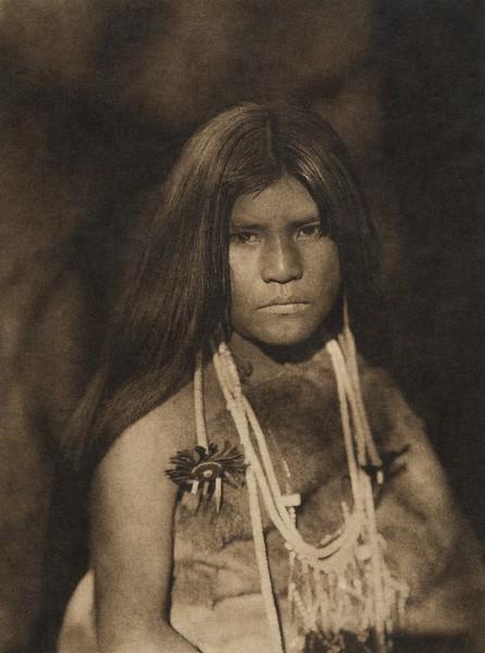 Coast Pomo bridal costume (The North American Indian, v. XIV. Norwood, MA, The Plimpton Press, 1924)