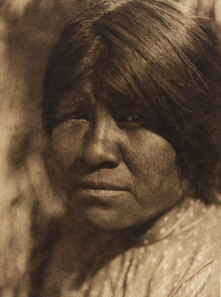 A young woman of Campo - Digueño (The North American Indian, v. XV. Norwood, MA, The Plimpton Press, 1926)