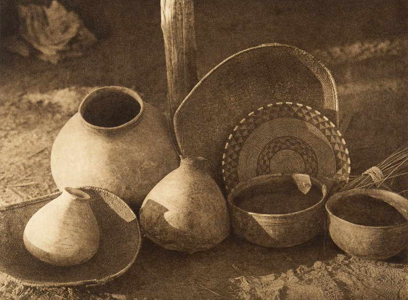 Chemehuevi basketry and pottery (The North American Indian, v. XV. Norwood, MA, The Plimpton Press, 1926)