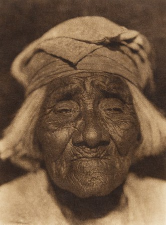A Santa Ysabel woman - Diegueño  (The North American Indian, v. XV. Norwood, MA, The Plimpton Press, 1926)