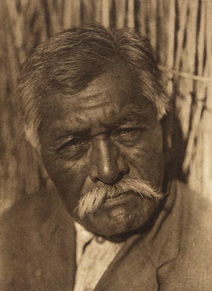 A Santa Ysabel man - Digueño (The North American Indian, v. XV. Norwood, MA, The Plimpton Press, 1926)