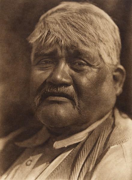 A Capitan Grande man - Digueño (The North American Indian, v. XV. Norwood, MA, The Plimpton Press, 1926)