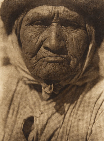 A southern Digueño woman  (The North American Indian, v. XV. Norwood, MA, The Plimpton Press, 1926)