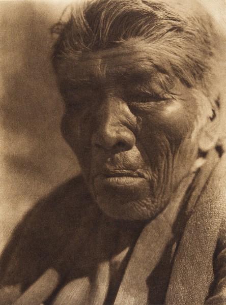 Monkey Face - Mesa Grande Digueño  (The North American Indian, v. XV. Norwood, MA, The Plimpton Press, 1926)