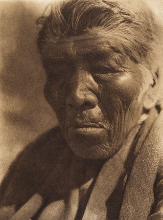 Monkey Face - Mesa Grande Digueño  (The North American Indian, v. XV. Norwood, MA, The Plimpton Press, 1926)