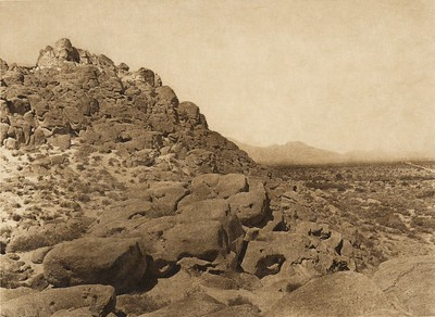 Ancient Shore of Salton Sea  (The North American Indian, v. XV. Norwood, MA, The Plimpton Press, 1926)