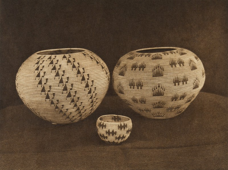 Washo basketry designs (The North American Indian, v. XV. Norwood, MA, The Plimpton Press, 1926)