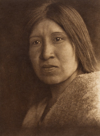 A desert Cahuilla woman  (The North American Indian, v. XV. Norwood, MA, The Plimpton Press, 1926)