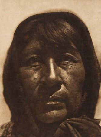 Paviotso woman of Pyramid Lake  (The North American Indian, v. XV. Norwood, MA, The Plimpton Press, 1926)