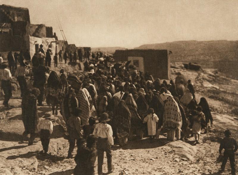 Procession of San Estevan, A - Acoma (The North American Indian, v. XVI. Norwood, MA, The Plimpton Press,  1926)