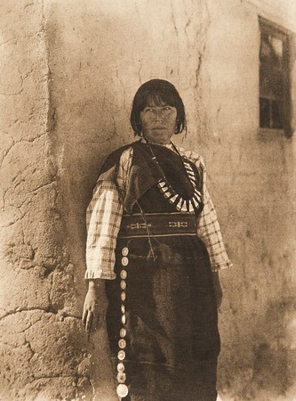 Tsaiyatsa - Cochiti (The North American Indian, v. XVI. Norwood, MA, The Plimpton Press,  1926)