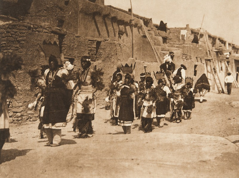Fiesta of San Estevan, A - Acoma (The North American Indian, v. XVI. Norwood, MA, The Plimpton Press,  1926)
