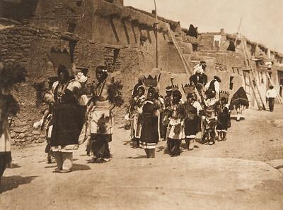 Fiesta of San Estevan, A - Acoma (The North American Indian, v. XVI. Norwood, MA, The Plimpton Press,  1926)