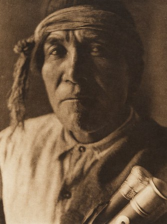 "Tsola - ""Chipmunk"", Jemez governor (The North American Indian, v. XVI. Norwood, MA, The Plimpton Press,  1926)"