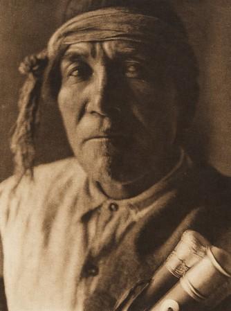 "Tsola - ""Chipmunk"", Jemez governor (The North American Indian, v. XVI. Norwood, MA, The Plimpton Press,  1926)"
