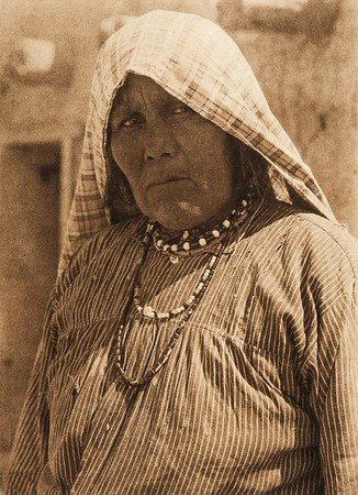 A Cochiti woman (The North American Indian, v. XVI. Norwood, MA, The Plimpton Press,  1926)