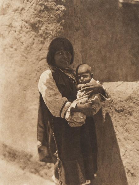 Ti'mu - Cochiti (The North American Indian, v. XVI. Norwood, MA, The Plimpton Press,  1926)