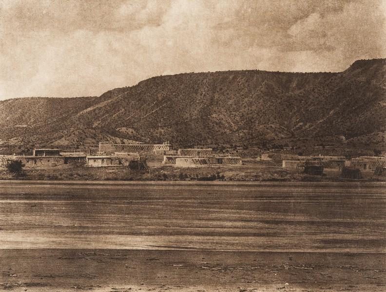 Santa Ana and Jemez River (The North American Indian, v. XVI. Norwood, MA, The Plimpton Press,  1926)