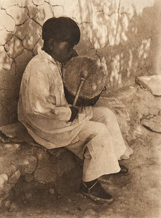 An Isleta boy (The North American Indian, v. XVI. Norwood, MA, The Plimpton Press,  1926)