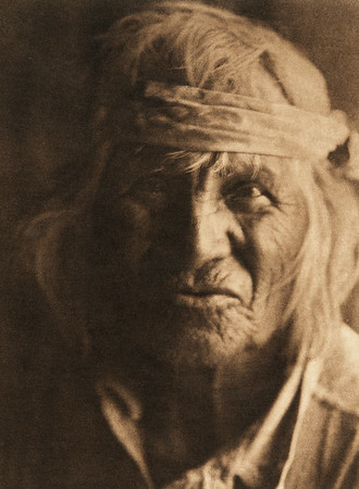 A Sia man (The North American Indian, v. XVI. Norwood, MA, The Plimpton Press,  1926)