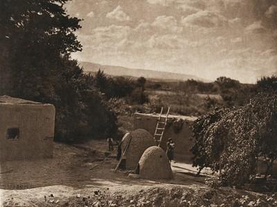 A San Juan home (The North American Indian, v. XVII. Norwood, MA, The Plimpton Press,  1926)