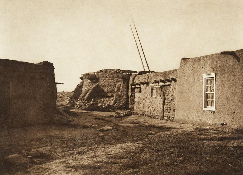 A kiva at Nambe (The North American Indian, v. XVII. Norwood, MA, The Plimpton Press,  1926)