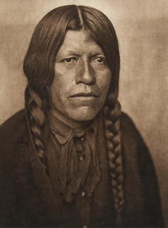 A San Juan man (The North American Indian, v. XVII. Norwood, MA, The Plimpton Press,  1926)