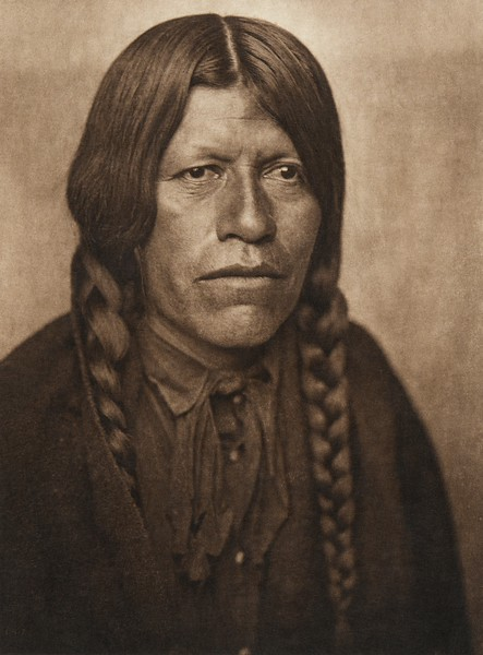 A San Juan man (The North American Indian, v. XVII. Norwood, MA, The Plimpton Press,  1926)
