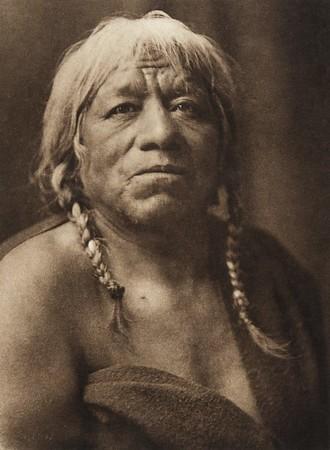 "Tse-ka - ""Douglas Spruce Leaf"", cacique of San Juan (The North American Indian, v. XVII. Norwood, MA, The Plimpton Press,  1926)"