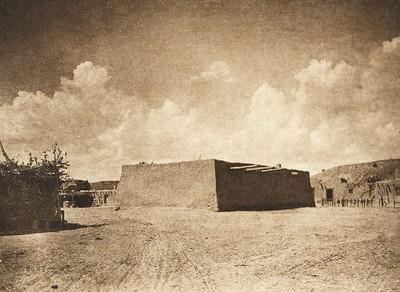 A kiva at Santa Clara (The North American Indian, v. XVII. Norwood, MA, The Plimpton Press,  1926)