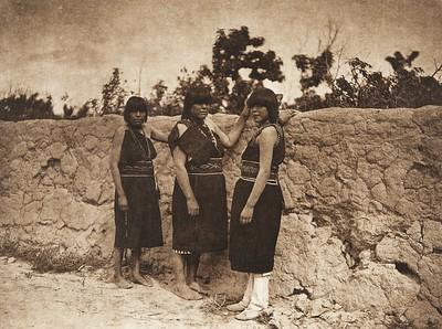 San Ildefonso women (The North American Indian, v. XVII. Norwood, MA, The Plimpton Press,  1926)
