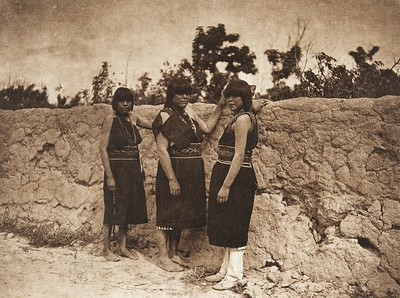 San Ildefonso women (The North American Indian, v. XVII. Norwood, MA, The Plimpton Press,  1926)