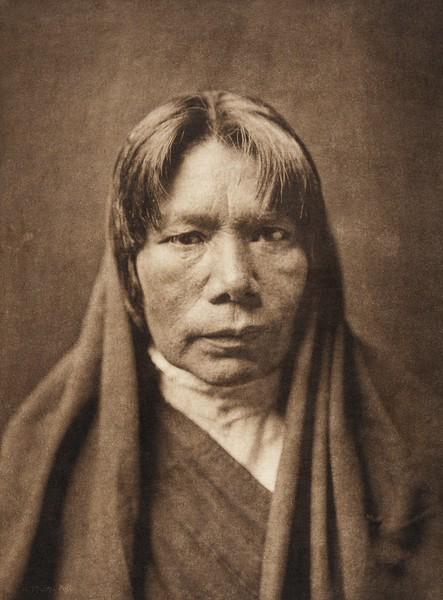 A San Juan matron (The North American Indian, v. XVII. Norwood, MA, The Plimpton Press,  1926)