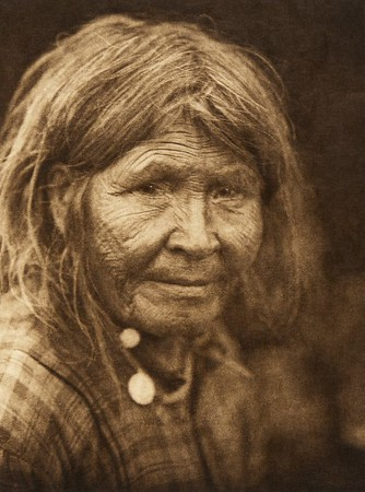Typical female physiognomy - Sarsi (The North American Indian, v. XVIII. Norwood, MA, The Plimpton Press,  1928)