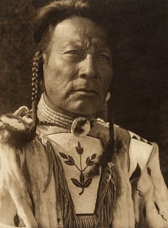 "Niukskai-Stamik - ""Three Bulls"" - Blood (The North American Indian, v. XVIII. Norwood, MA, The Plimpton Press,  1928)"