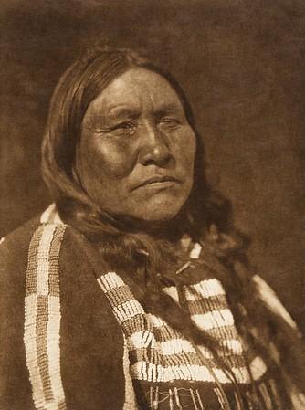 "Kaistosinikyi - ""Kill-for-nothing"" - Blood (The North American Indian, v. XVIII. Norwood, MA, The Plimpton Press,  1928)"