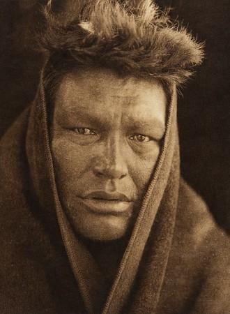 "Napeu - ""Man"" - Cree (The North American Indian, v. XVIII. Norwood, MA, The Plimpton Press,  1928)"