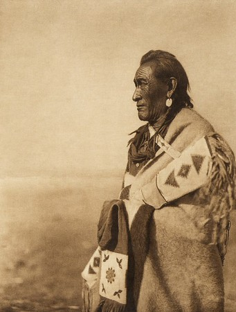 A typical Blackfoot (The North American Indian, v. XVIII. Norwood, MA, The Plimpton Press,  1928)