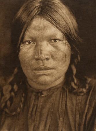 A Chipewyan woman (The North American Indian, v. XVIII. Norwood, MA, The Plimpton Press,  1928)