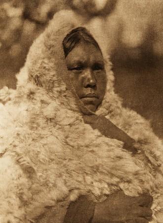 "Wapistan - ""Marten"" - Cree (The North American Indian, v. XVIII. Norwood, MA, The Plimpton Press,  1928)"