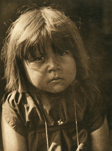A little Comanche (The North American Indian, v. XIX. Norwood, MA, The Plimpton Press,  1930)