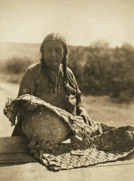 Braided squash - Wichita (The North American Indian, v. XIX. Norwood, MA, The Plimpton Press,  1930)