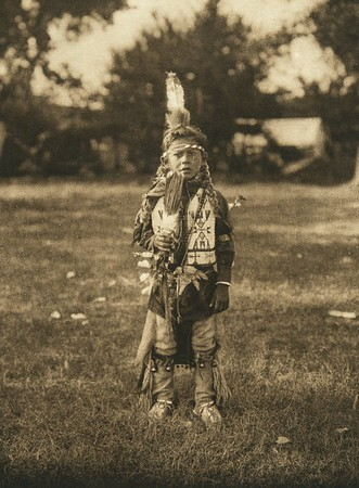 A Wichita dancer (The North American Indian, v. XIX. Norwood, MA, The Plimpton Press,  1930)