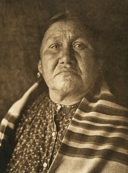 Wife of Wakonda - Oto (The North American Indian, v. XIX. Norwood, MA, The Plimpton Press,  1930)