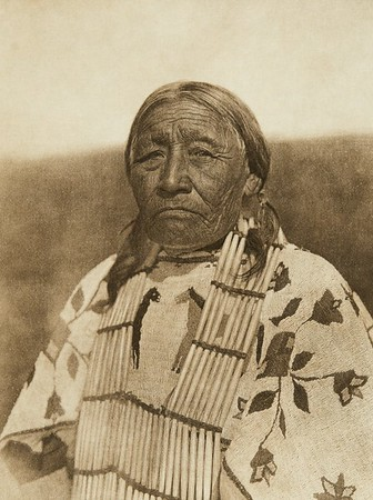 Wife of Old Crow - Cheyenne (The North American Indian, v. XIX. Norwood, MA, The Plimpton Press,  1930)