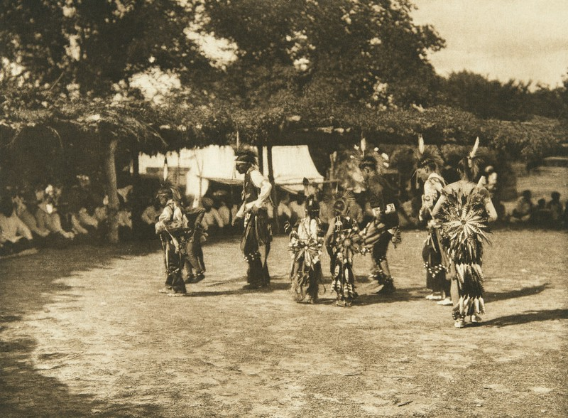 Dancers - Wichita (The North American Indian, v. XIX. Norwood, MA, The Plimpton Press,  1930)